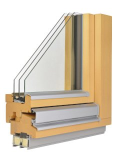 Wooden window - frame
