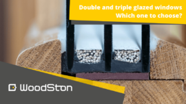 Double or triple-glazed windows